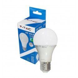 V-Tac 10W LED pære - Varm hvid, dæmpbar, 200 grader, E27