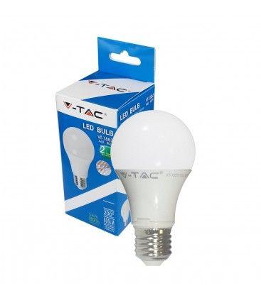 V-Tac 10W LED pære - Dæmpbar, 200 grader, E27