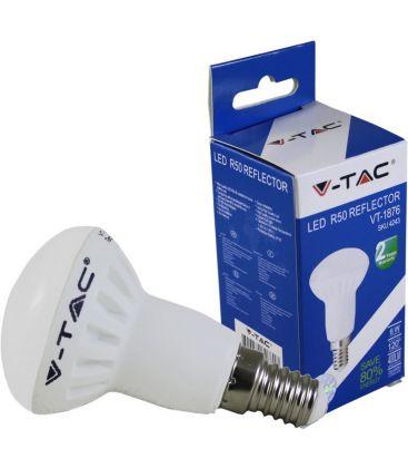 V-Tac 6W E14 LED pære - spotpære, 120 grader, R50