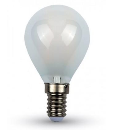 V-Tac 4w LED kertepære - Kultråd, matteret glas,, E27