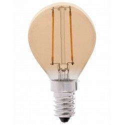 E14 Lille fatning LEDlife 2W LED kronepære - Dæmpbar, kultråd, røget glas, ekstra varm, E14