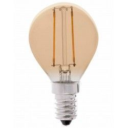 E14.2.krone.2200k.dim: LEDlife 2W LED kronepære - Dæmpbar, Kultråd, Røget glas, Ekstra varm, E14