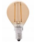LEDlife 2W LED kronepære - Dæmpbar, Kultråd, Røget glas, Ekstra varm, E14