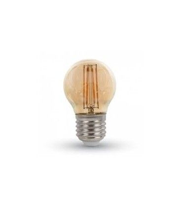 LEDlife 4W LED kronepære - Dæmpbar, kultråd, røget glas, ekstra varm, E27