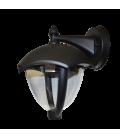 V-Tac sort væglampe - IP44 udendørs, E27 fatning, uden lyskilde