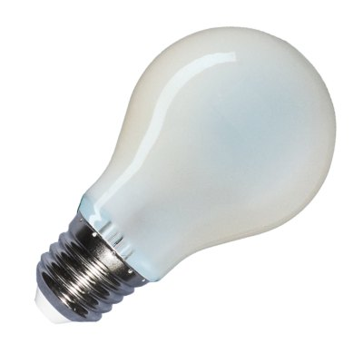 Image of   V-Tac 8W LED pære - Kultråd, matteret, A67, E27 - Kulør : Neutral, Dæmpbar : Ikke dæmpbar