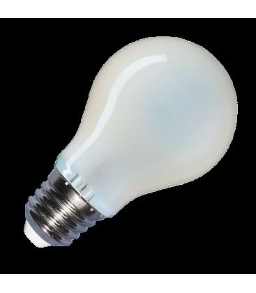 V-Tac 8W LED Pære - Kultråd, materet glas, A67, E27