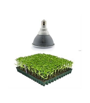 LED 12W vækstlampe, E27, Grow lamp