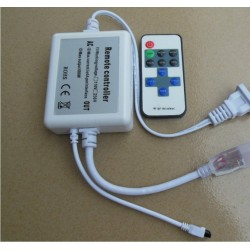 Tilbehør Trådløs dæmper med fjernbetjening - Inkl. endeprop, til 6W 230V, memory funktion, infrarød