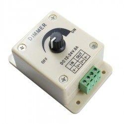 Dim.Controller.12V: 12V og 24V dæmper - 12V (96W), 24V (192W)