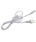 100 cm kabel til T5 armatur - Med kontakt og stik