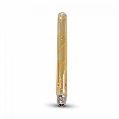 Image of   V-Tac 5W LED pære - Kultråd, T30, ekstra varm hvid, 2200K, E27 - Dæmpbar : Ikke dæmpbar, Kulør : Ekstra varm