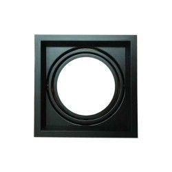 Indbygningsspot V-Tac indbygningsspot - Sort, 17,5 x 17,5 cm, G53 AR111