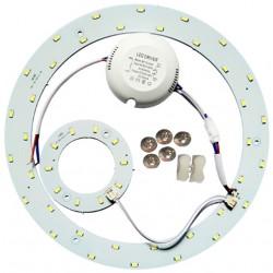 2D kompakt lysstofrør 23W LED indsats - Ø25,1 cm, erstat cirkelrør og kompaktrør
