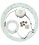 23W LED indsats - Ø25,1 cm, erstat cirkelrør og kompaktrør