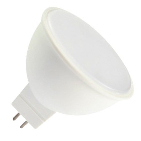 V-Tac FROST7 LED spotpære - 7W, høj spredning, MR16 / GU5.3