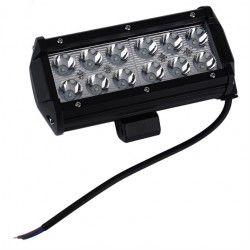 LED Projektør 36W LED arbejdslampe - Bil, lastbil, traktor, trailer, udrykningskøretøjer, kold hvid, 12V / 24V