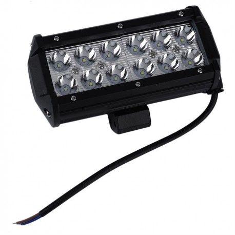 36W LED arbejdslampe - Bil, lastbil, traktor, trailer, udrykningskøretøjer, kold hvid, 12V / 24V