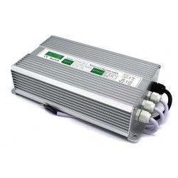 12V IP68 (Vandtæt) 200W strømforsyning - 12V DC, 16,6A, IP67 vandtæt
