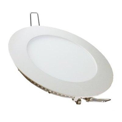 Image of   V-Tac 24W LED indbygningspanel - Hul: Ø28,5 cm, Mål: Ø30 cm, 230V - Kulør : Neutral, Dæmpbar : Ved tilkøb