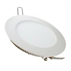 V-Tac 24W LED indbygningspanel - Hul: Ø28,5 cm, Mål: Ø30 cm, 230V