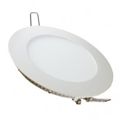 VT-2407RD: V-Tac 24W LED indbygningspanel - Hul: Ø28,5 cm, Mål: Ø30 cm, 230V