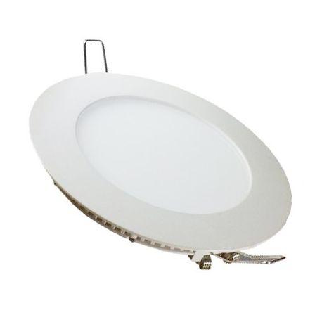 V-Tac 24W LED indbygningspanel - Hul: Ø28 cm, Mål: Ø30 cm, 230V