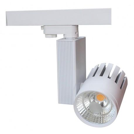 LEDlife Skinnespot 30W - 2700lm, Farve: hvid / sølv / sort