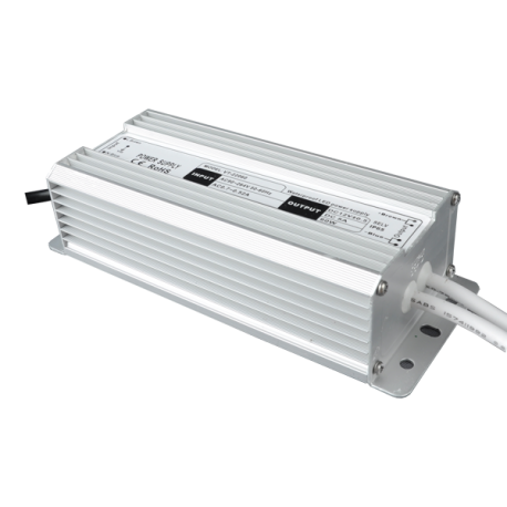 V-Tac 60W strømforsyning - 12V DC, 5A, IP65 vandtæt