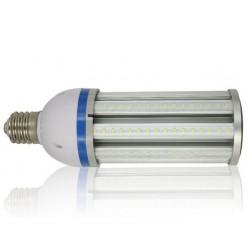 MEGA27.E27.klar: LEDlife MEGA27 dæmpbar - 27w, klar glas, varm hvid, IP64 vandtæt, E27
