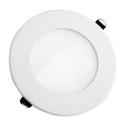VT-800RD: V-Tac 8W LED indbygningspanel - Hul: Ø12,5 cm, Mål: Ø14,5 cm, 230V