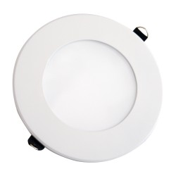 VT-800RD: V-Tac 8W LED indbygningspanel - Hul: Ø12,5 cm, Mål: Ø14,5 cm, uden driver