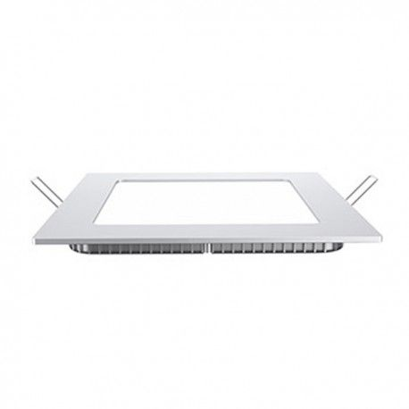 V-Tac 15W LED indbygningspanel - Hul: 14 x 14 cm, Mål: 16 x 16 cm, uden driver