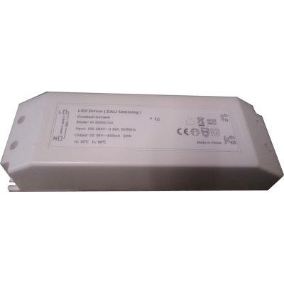 Image of   29W DALI dæmpbar driver til LED panel - Med Dali interface, passer til vores 29W LED paneler - Dæmpbar : DALI dæmpbar