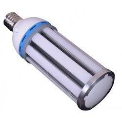 MEGA36.E40.mat: LEDlife MEGA36 dæmpbar - 36w, mat glas, varm hvid, IP64 vandtæt, E40