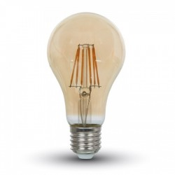 VT-1954: V-Tac 4W LED pære - Kultråd, røget glas, ekstra varm hvid (2200K), E27
