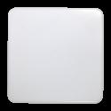 V-Tac firkantet 15W LED loftslampe - IP44, 20 x 20cm, 230V, inkl. lyskilde