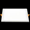 V-Tac 15W LED indbygningspanel - Hul: 13,5 x 13,5 cm, Mål: 14,5 x 14,5 cm, 230V