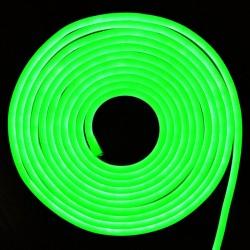VT-555: V-Tac LED Neon Flex 24V Grøn - 10m rulle