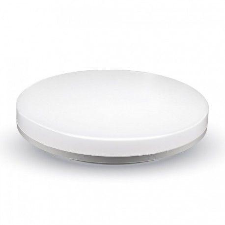 V-Tac rund LED loftslampe - 15W, IP44, Ø20 cm