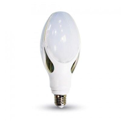 Image of   V-Tac 40W LED kolbepære - 22 x 9 cm, E27 - Kulør : Varm, Dæmpbar : Ikke dæmpbar