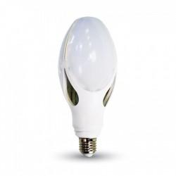V-Tac 40W LED kolbe pære - Kompakt, 22 x 9 cm, E27