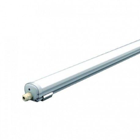V-Tac vandtæt 18W LED komplet armatur - 60 cm, IP65, 230V