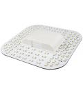 Kompaktrør LED 12W, 2D fatning, GR10q 4pin, varm hvid