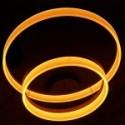V-Tac 60w lysekrone med 2 ringe - Blødt lys, Ø60, Varm hvid