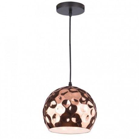 V-Tac Rosa/guld kobber pendel lampe - Ø20cm, E27