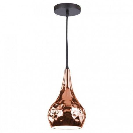 V-Tac Rosa/guld kobber pendel lampe - Ø18 cm, E27