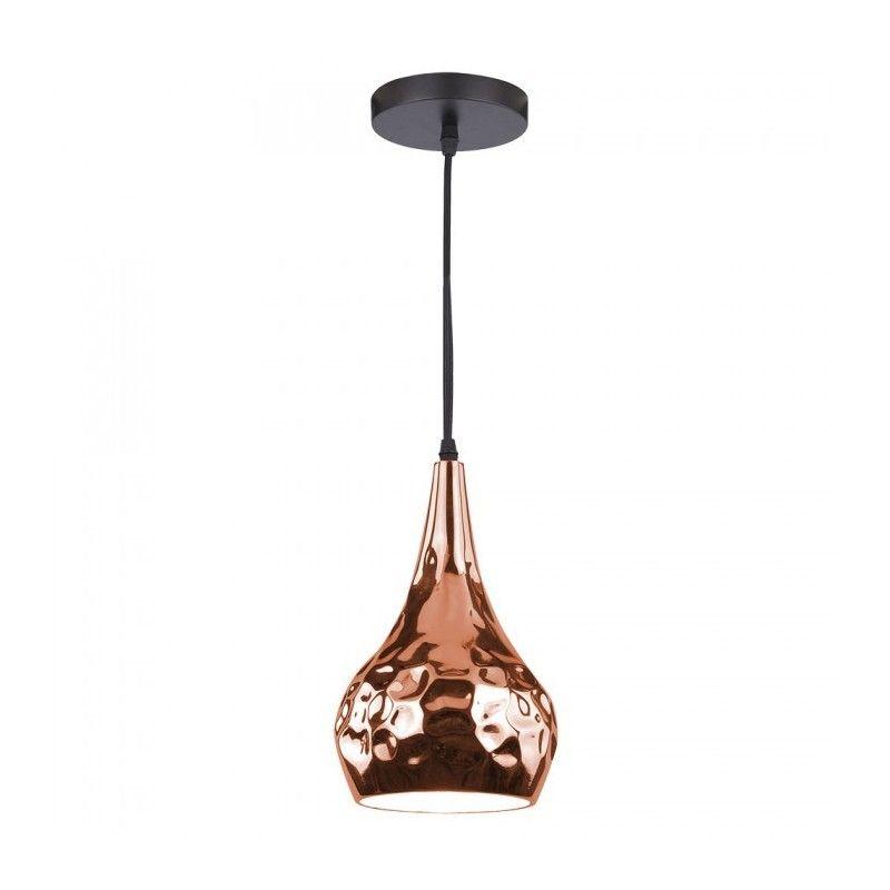 V Tac Rosa guld kobber pendel lampe u00d818 cm, E27