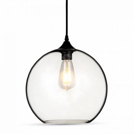 V-Tac pendel lampe - globe, glas, Ø30cm, E27