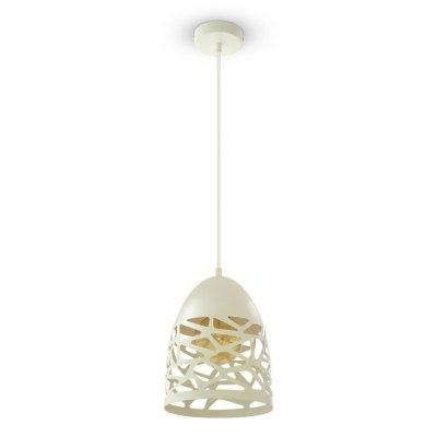 Image of   V-Tac Pendel lampe - Mat hvid, metal, E27